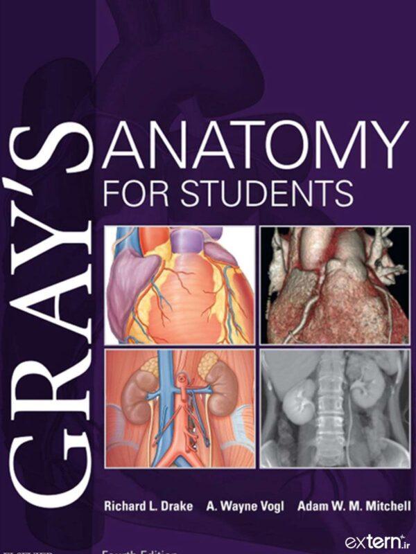 کتاب آناتومی گری برای دانشجویان 2020