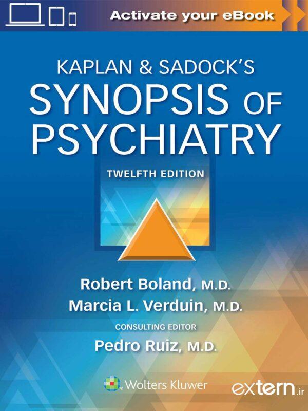 کتاب روانپزشکی کاپلان و سادوک ۲۰۲۲ ویرایش ۱۲