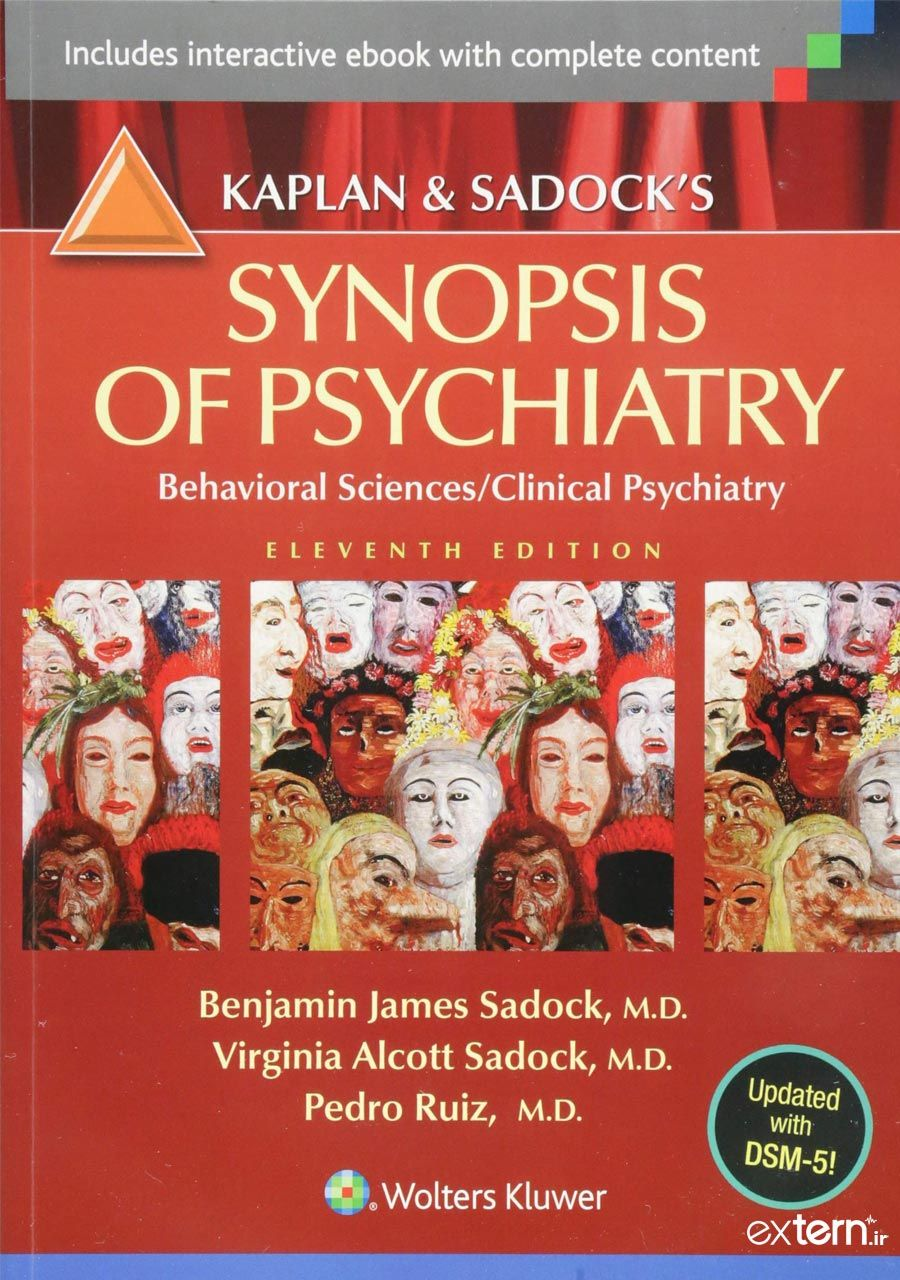 کتاب روانپزشکی کاپلان و سادوک 2015 ویرایش 11
