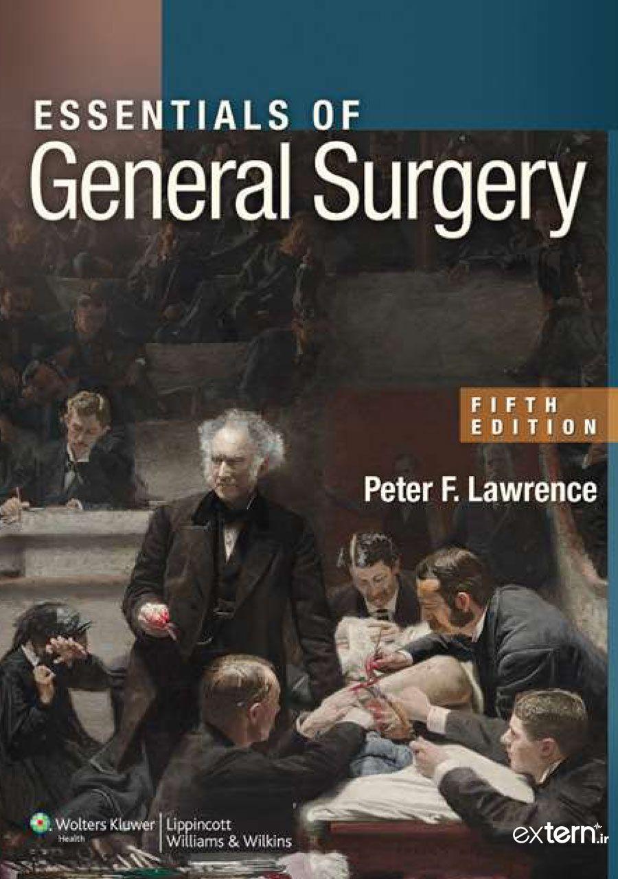 کتاب ضروریات جراحی عمومی لاورنس 2013