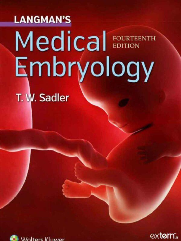 کتاب جنین شناسی پزشکی لانگمن 2019 ویرایش 14